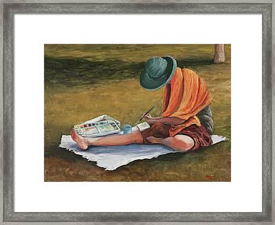 Eva Framed Print by Darice Machel McGuire