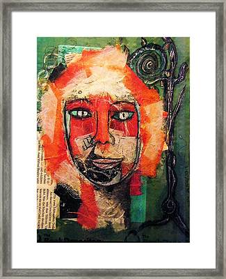 Eva Smiles Framed Print