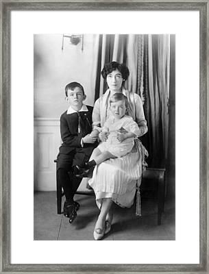 Evalyn Walsh Mclean(1886-1947) Framed Print
