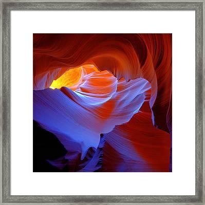 Evanescent Light Framed Print