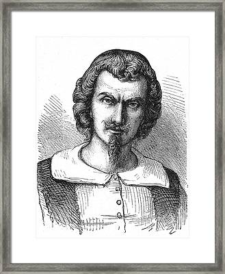 Evangelista Torricelli Framed Print by Collection Abecasis