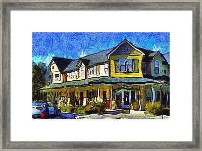 Evans Ranch Los Olivos California Framed Print