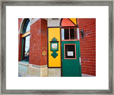 Evanston Wyoming - 2 Framed Print by Ely Arsha