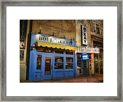 Framed Print featuring the photograph Eva's Bakery  by Ely Arsha