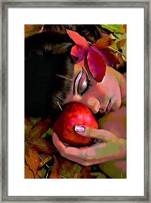 Eve Framed Print by  Fli Art