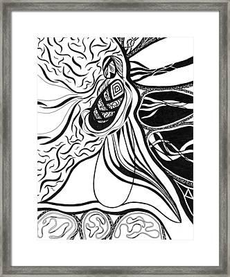 Eve Framed Print by Kerri White