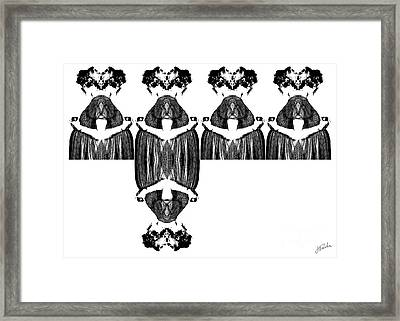 Eve Over And Over II Framed Print
