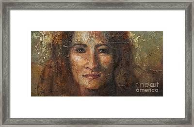 Eve Framed Print by Sandra Quintus