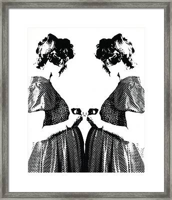 Eve Twice Framed Print