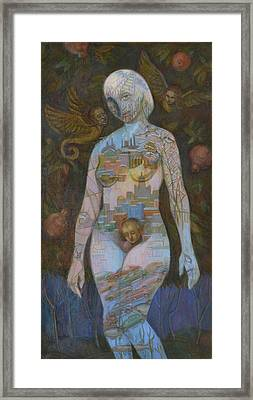Eve Framed Print by Viktoriya Basina