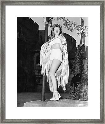 Evelyn Ankers, 1944 Framed Print