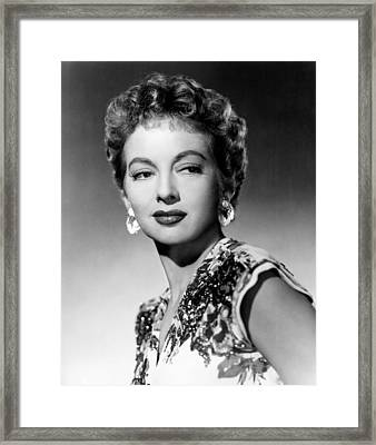 Evelyn Keyes, Ca. 1950 Framed Print by Everett