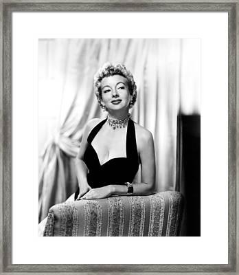 Evelyn Keyes, Ca. Mid-1950s Framed Print by Everett
