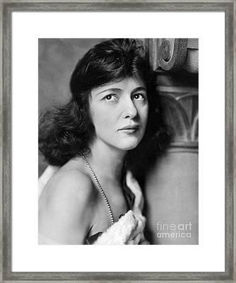 Evelyn Nesbit Framed Print by Granger