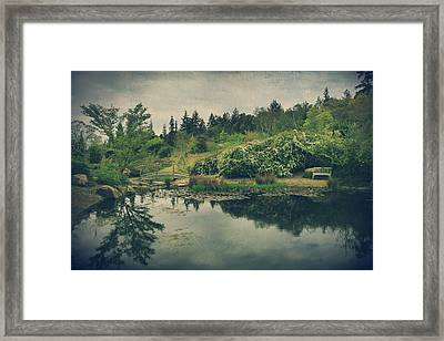 Even After You're Gone Framed Print by Laurie Search