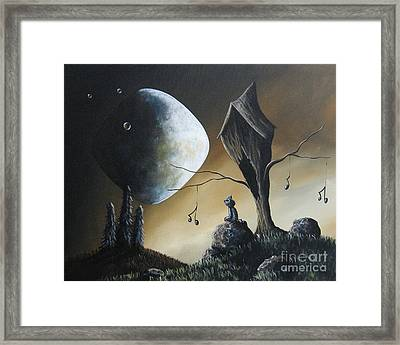 Even Cats Have Strange Dreams By Shawna Erback Framed Print