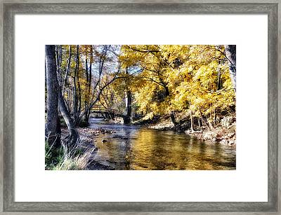Even In The Quietest Moments Framed Print by Bill Cannon