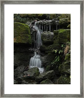 Even When We Fall Framed Print by Theresa Selley