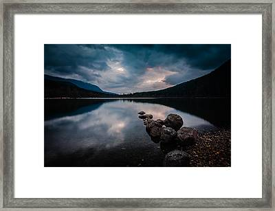 Evening Approaches Framed Print by Brian Xavier