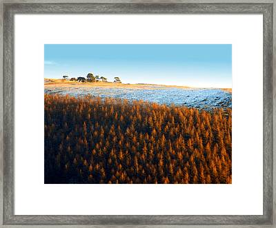 Evening At The Horseshoe Pass 2 Framed Print