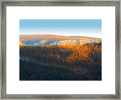 Evening At The Horseshoe Pass 3 Framed Print