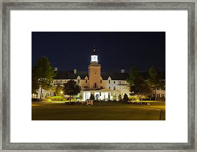 Evening At The Sagamore Resort Framed Print by David Patterson