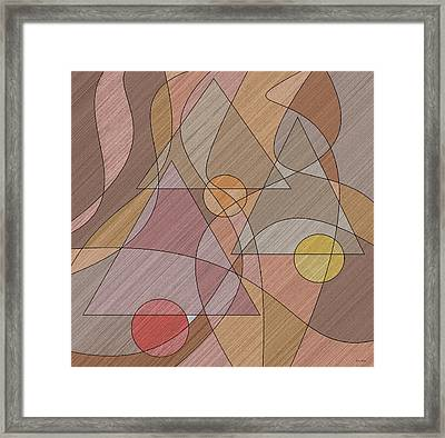 Evening Bells Framed Print by Val Arie
