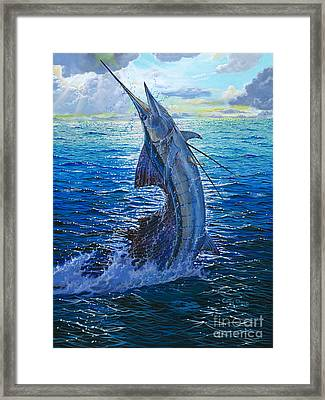 Evening Bite Framed Print by Carey Chen