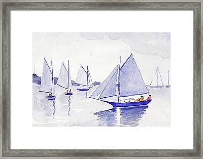 Evening Breeze Framed Print
