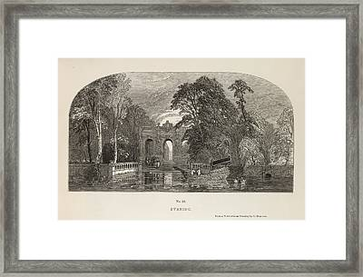 Evening Framed Print by British Library