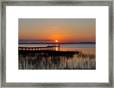 Evening Calm  Framed Print
