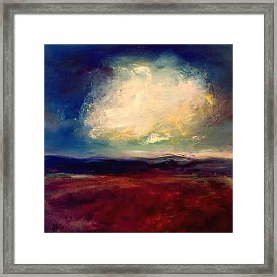 Evening Cloud Framed Print