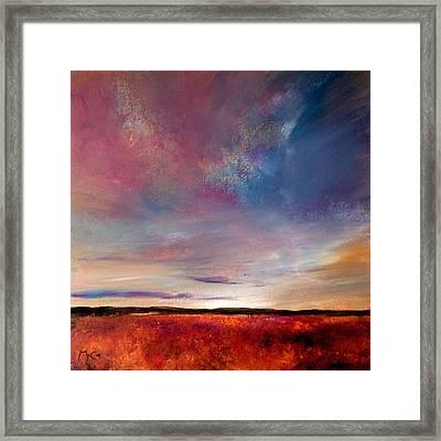 Evening Colours Framed Print