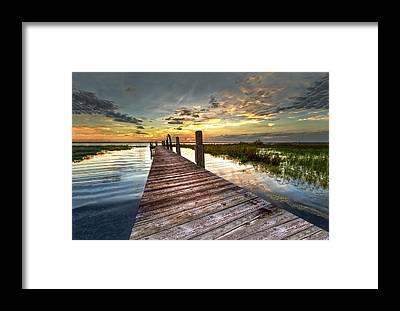 Florida Sunset Framed Prints