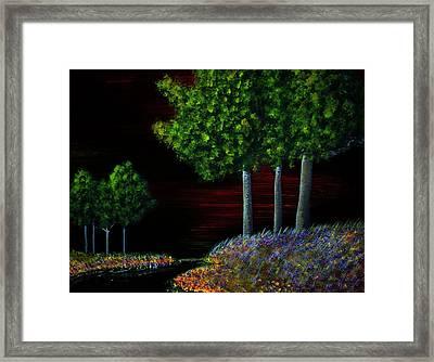 Evening Dream Framed Print by Tim Townsend