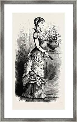 Evening Dress,  Fashion Framed Print
