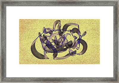 Evening Flight Framed Print by Marian Palucci-Lonzetta
