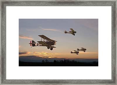 Evening Flight Framed Print by Pat Speirs
