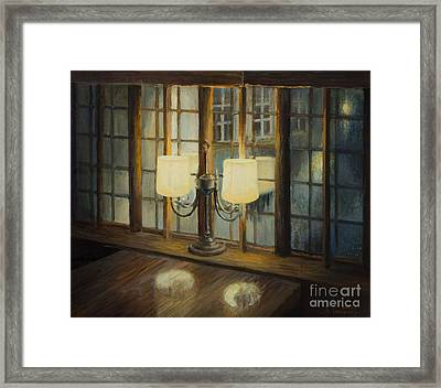 Evening For Two Framed Print by Kiril Stanchev