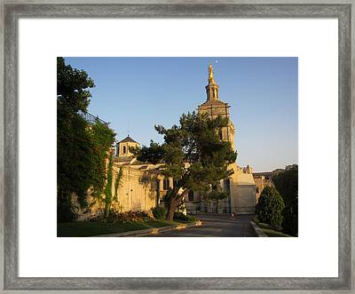 Evening Glow Framed Print by Pema Hou