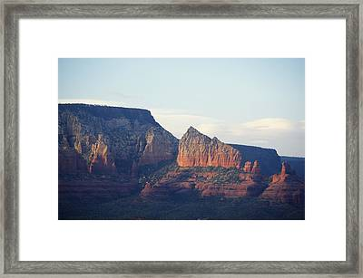 Evening Glow Framed Print
