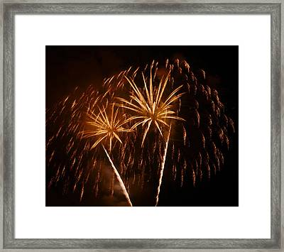 Framed Print featuring the photograph Evening In Paradise by Linda Mishler