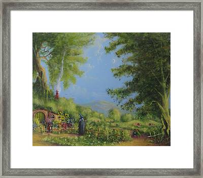 Evening In The Shire. Framed Print by Joe  Gilronan