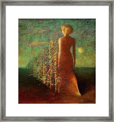 Evening Framed Print by Karen Aghamyan