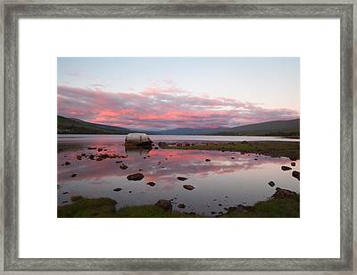 Evening Light On Ben Nevis Framed Print