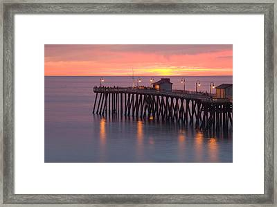 Evening Light San Clemente Framed Print