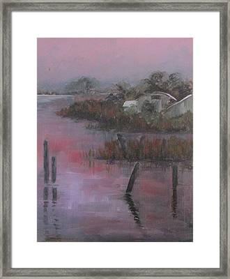 Evening Light Framed Print by Susan Richardson
