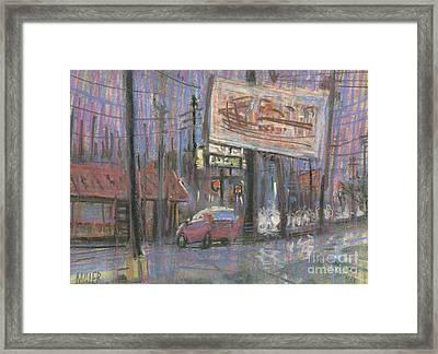Evening Lights Framed Print by Donald Maier