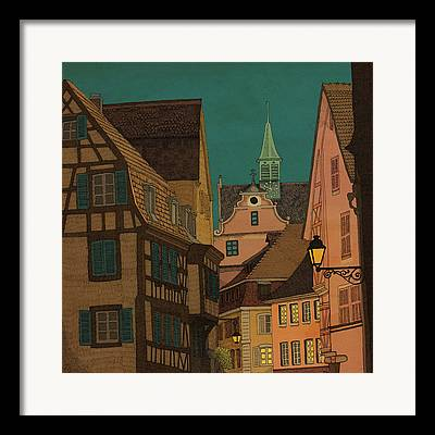 Alsace Framed Prints