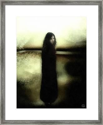 Evening Melancholia Framed Print by Gun Legler